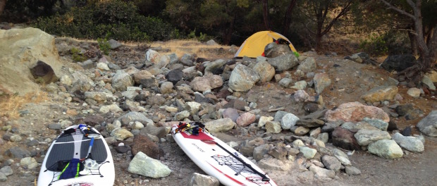 Stand Up Paddle Camping