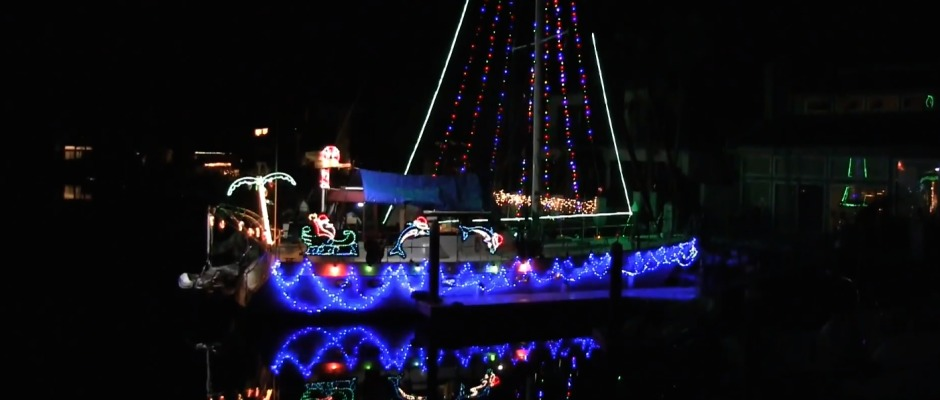 A family tradition lights up newport beach